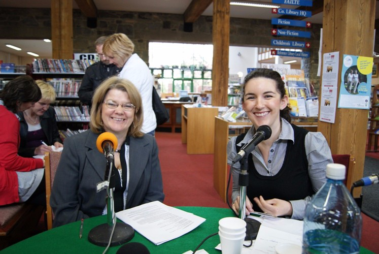 Bernie Fennell, Manager and Amanda Branagan, Europe Direct are tremendous supporters of the the station and have welcomed us to the Louth County Library for many Outside Broadcasts.