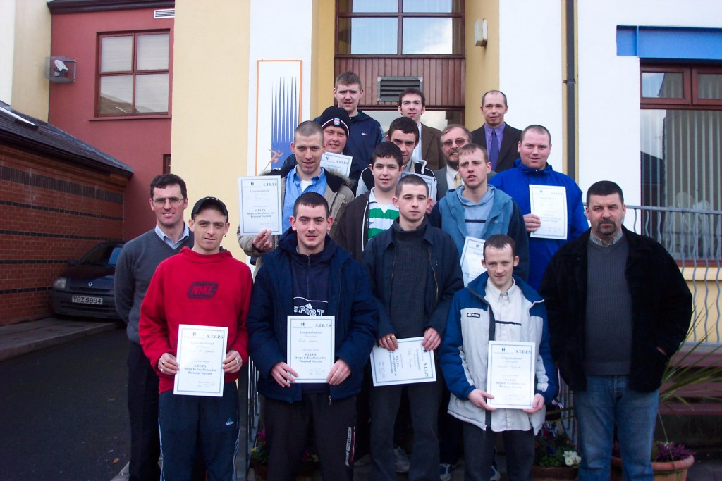 February 2005 Radio Course participants with Deco Moran and Sean Kelly.