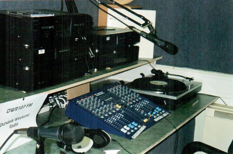 DWR 107FM Studio
