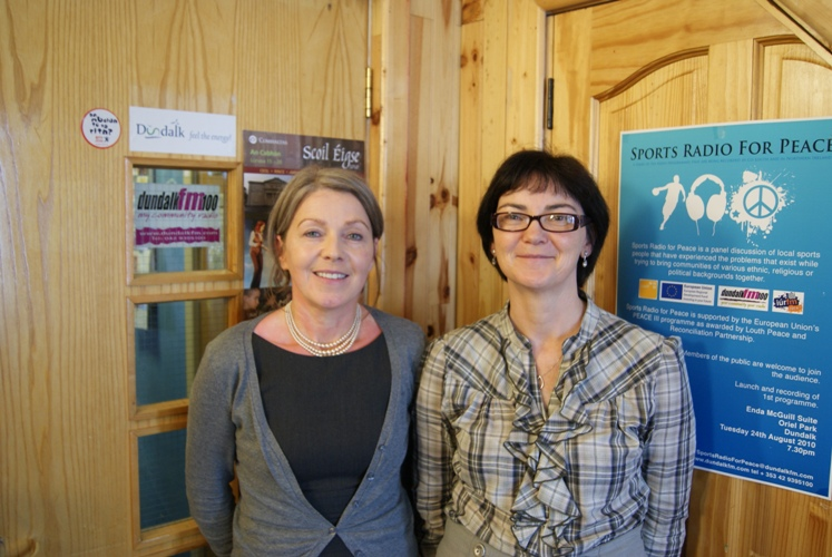 Dr Lucia Carragher and Anne Marron