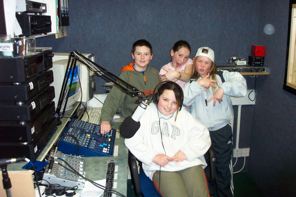 Media Centre 2004 Louth Youth Federation Visit