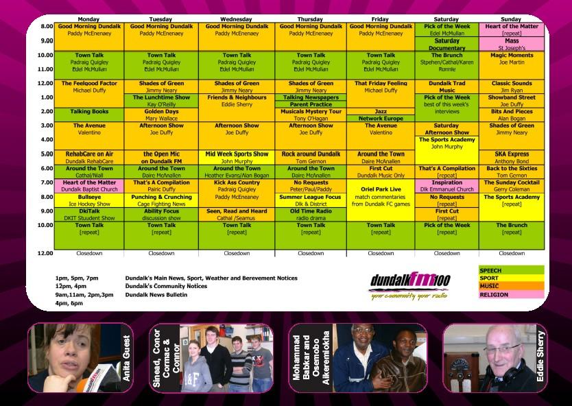 Schedule 2010