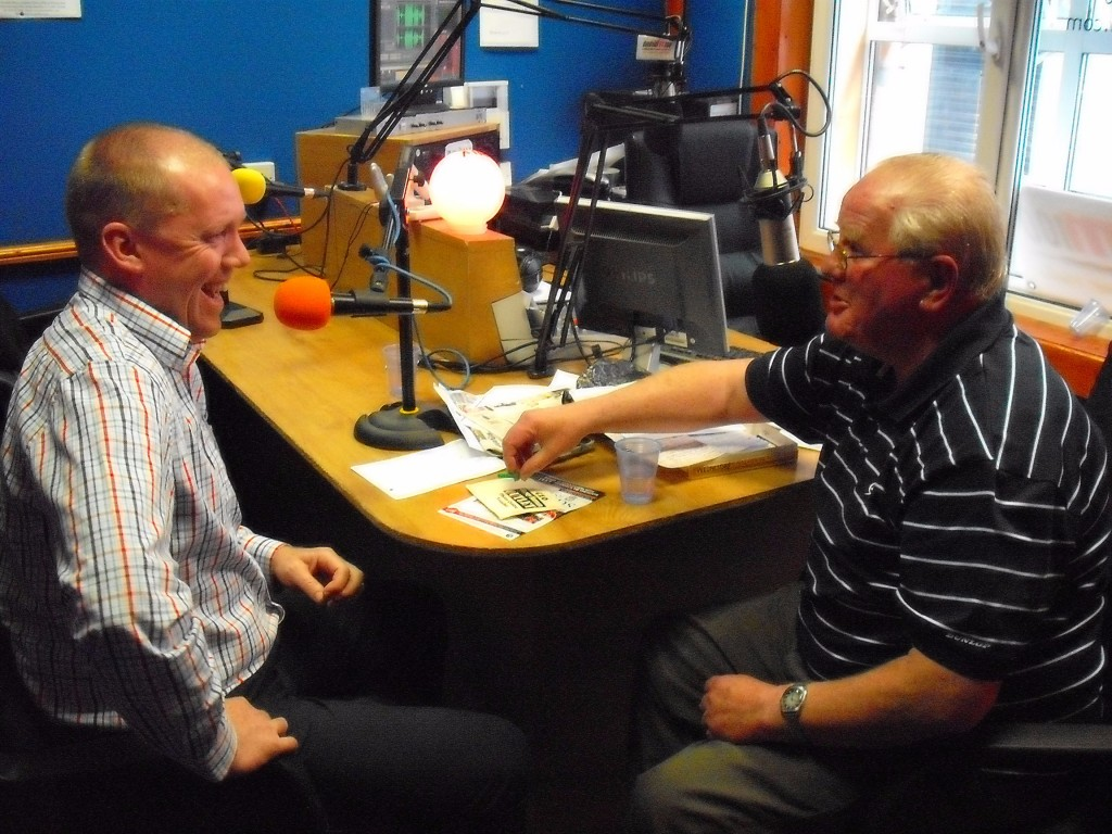 Stephen Staunton with John Murphy 130611