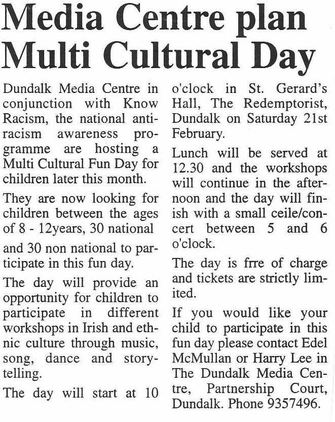 multi cultural day