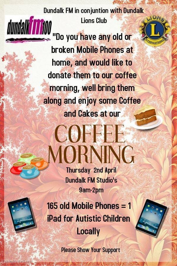 Dundalk Lion's Club Mobile Phone Appeal